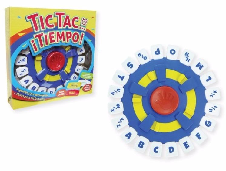 Tic Tac Tiempo Juego De Mesa Para Jugar En Familia Jugueteria El