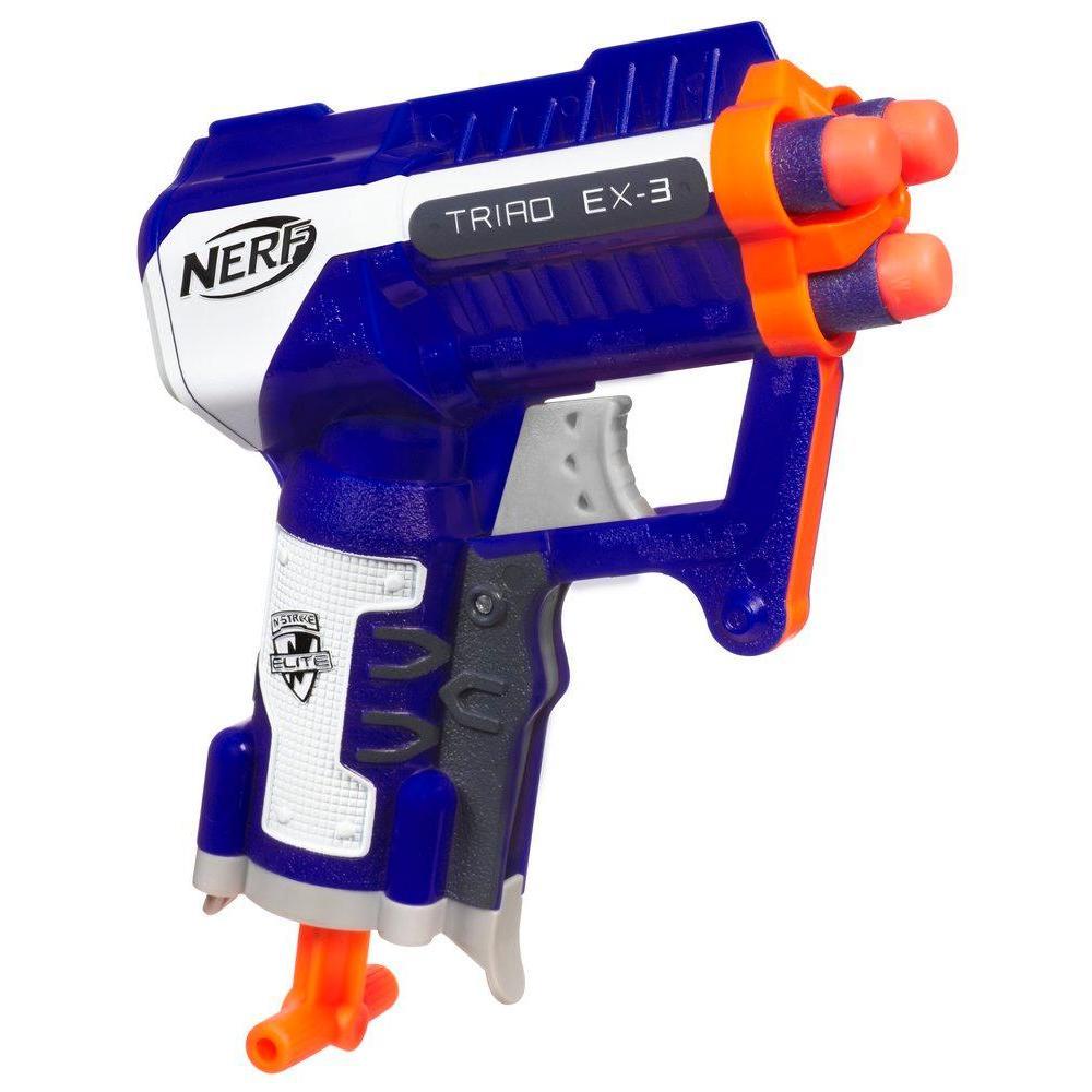 Nerf Pistola Triad Ex-3 $550,00