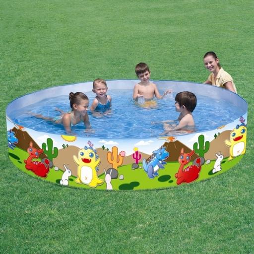 Piletas rigidas jugueter a el pehu n en villa del parque for Piletas bestway precios